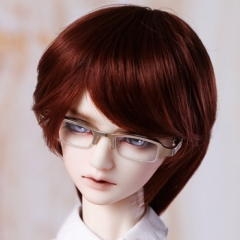 1/3 Youth changeable short wig/ tan color