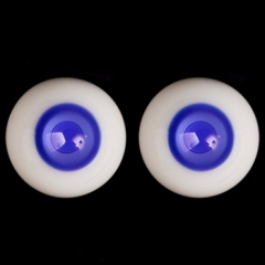 16MM navy blue eyeballs