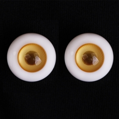 14MM amber color eyeballs