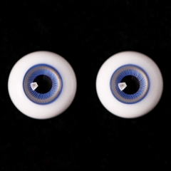 16MM Ice-blue eyeballs