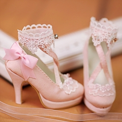 1/3 retro sweet high-heel shoes