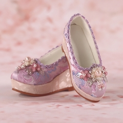 1/3 Youth Pink shoes/ oriental cherry