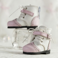 1/6 british shoes (pink)