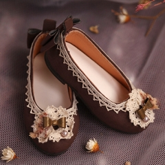 1/4 girl retro shoes/butterfly