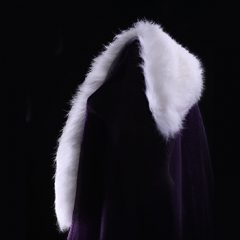 Retro Rabbit fur cape