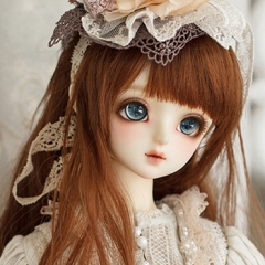 1/3 youth/62cm female Mavis mori clothes Fullset -- Scarlet