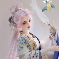 1/3 Goddess Lo ancient style set hair - Huafu/Pink